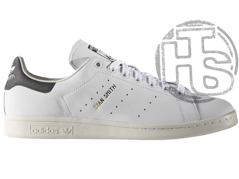Женские кроссовки Adidas Stan Smith White/Black S75076