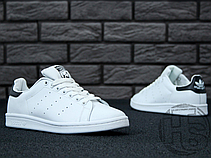 Женские кроссовки Adidas Stan Smith White/Black S75076, фото 2