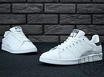 Женские кроссовки Adidas Stan Smith White/Black S75076, фото 3