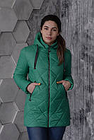 Куртка женская весенняя Aziks м-170 зеленый