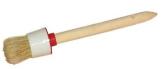 Кисть круглая универсальная, деревянная ручка  БРИГАДИР, №6 30мм (63930003)