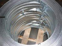 Полоса стальная оцинкованная для молниезащиты (заземления) 25х4,0 мм (бухта)