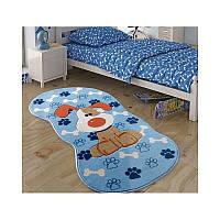 Ковер в детскую комнату Confetti - Snopy голубой 80*150