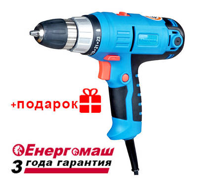 Дрель-шуруповерт Энергомаш ДУ-2145П, фото 2