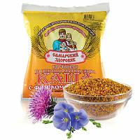 №56 Каша пшенично-вівсяна з квітковим пилком і бджолиним воском (антицелюлітна)