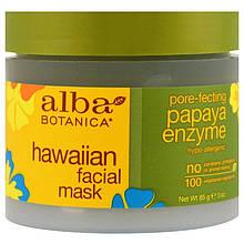 """Гавайская маска для лица Alba Botanica """"Hawaiian Facial Mask"""" с энзимом папайи (85 г)"""