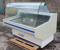 Холодильная витрина колбасная «Mawi» 1.5 м. (Польша), широкая выкладка 70 см., Б/у, фото 1