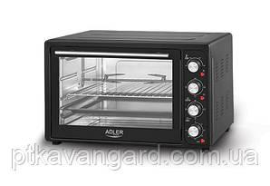 Печь электрическая с грилем 2000 Вт, 45 л, 3 режима нагрева Adler AD 6010