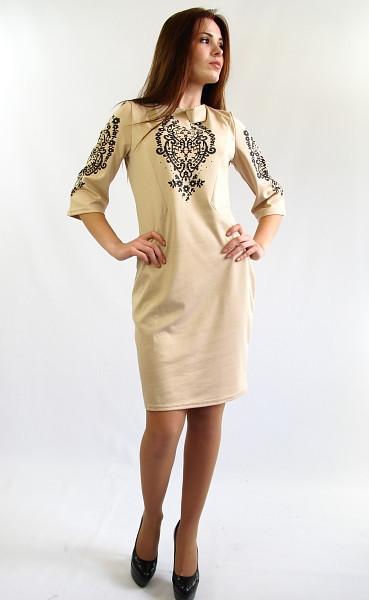 Стильное нарядное платье. Платье Стефания.