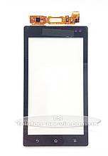 Сенсорный экран Sony MT27i Xperia Sola, черный