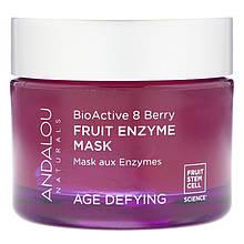 """Антивозрастная энзимная маска для лица Andalou Naturals """"Fruit Enzyme Mask"""" отшелушивающая (50 мл)"""