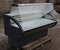 Холодильная витрина охлаждаемая «Росс Росинка» 1.6 м. (Украина), Хорошее состояние, Б/у , фото 1