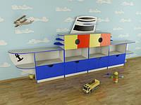 Детская игровая стенка Кораблик