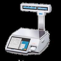 Весы с печатью этикетки CAS CL5000JP