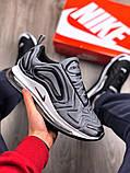 Мужские кроссовки Nike Air Max 720 Gray, фото 9