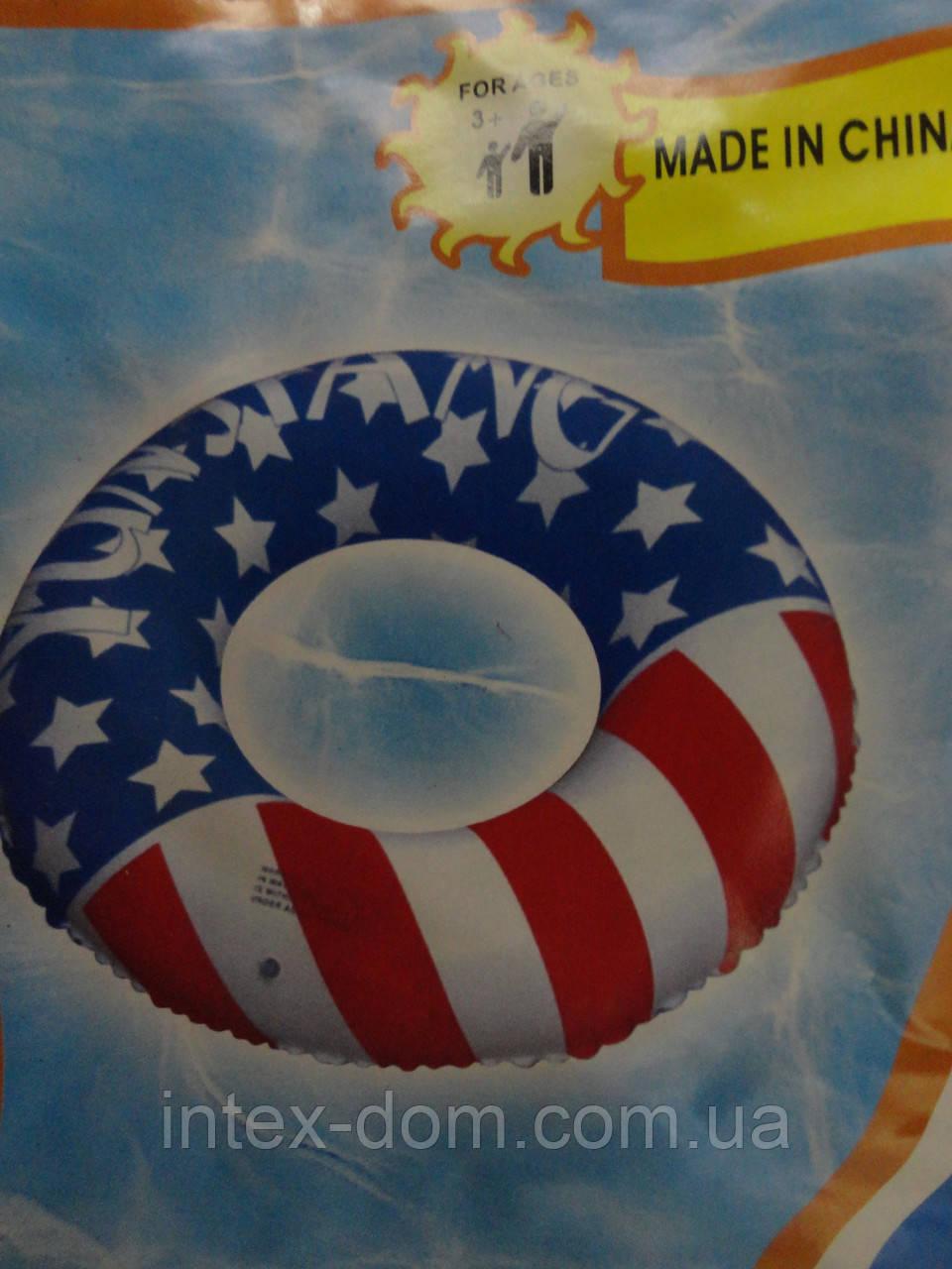 Круг надувной 96 см флаг США