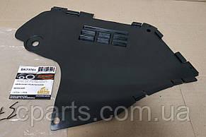 Защита бампера левая Dacia Logan фаза 1 (Breckner BK71751)(среднее качество)