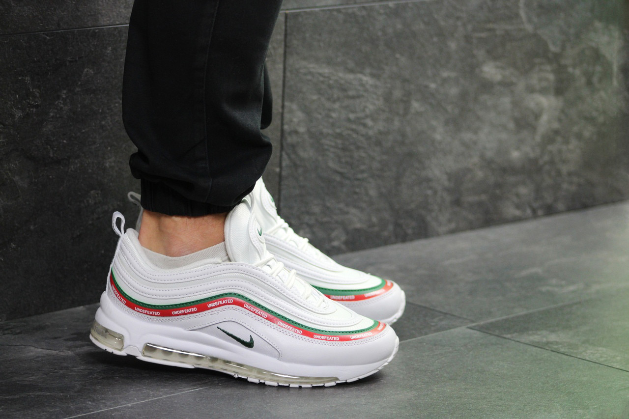Мужские кроссовки Nike Air Max 97 Gucci White