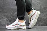 Мужские кроссовки Nike Air Max 97 Gucci White, фото 2