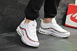 Мужские кроссовки Nike Air Max 97 Gucci White, фото 7