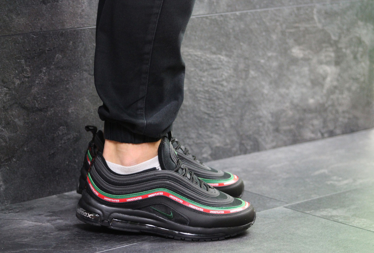 sports shoes 83c2f 6577f Мужские кроссовки Nike Air Max 97 Gucci Black