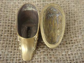 Бронзовый/мельхиоровый комплект для ножа № 11, фото 2
