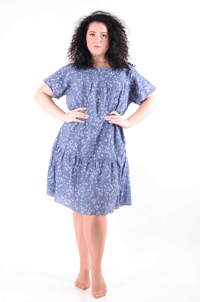 Молодежное летнее платье 1284-4