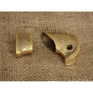 Бронзовый/мельхиоровый комплект под шашку №2, фото 2