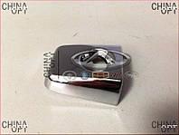Накладка цилиндра замка двери передней, с отверстием, Geely MK1 [1.6, до 2010г.], 1018004995, Aftermarket