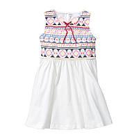 Платье для девочки Узор Little Maven