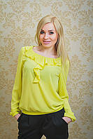 Блуза женская желтая, фото 1