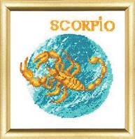 """Набор для вышивки """" Знаки зодиака """"Скорпион"""""""