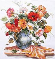 Набор для вышивки крестом Алиса 2-11 Поэзия цветов. Нежные маки