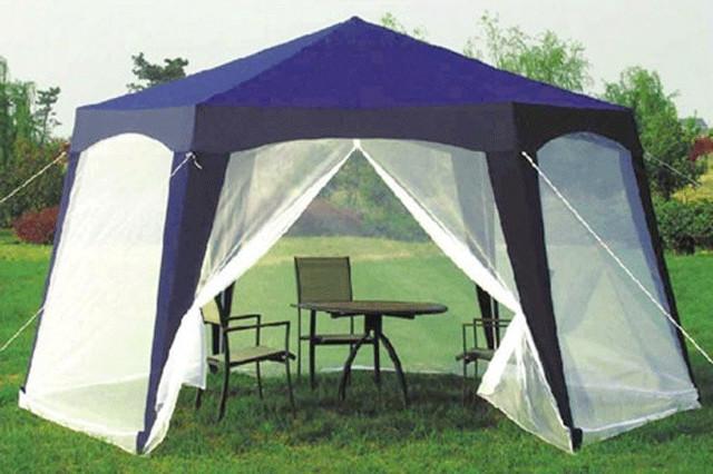 Садовые павильоны, зонты, палатки