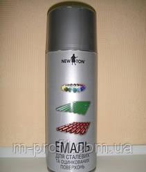 """Краска """"New Ton"""" для оцинковки, 400 мл. RAL 9006"""
