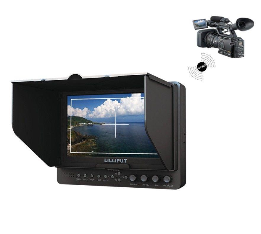 "Накамерный монитор LILLIPUT 665/O/P/WH 7"" Wireless HDMI (665/O/P/WH)"