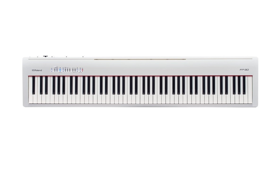 Цифровое пианино Roland FP-30 White
