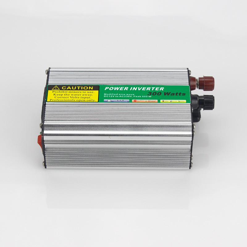 Преобразователь POWER INVERTER 300W 12 V/220, серый