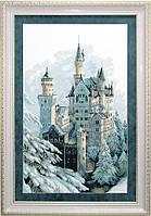 """""""Замок зимний"""" Чарівна Мить. Набор для вышивки крестом (М-98(А-151))"""