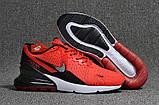 Мужские кроссовки Nike Air Max 270 Flair Red, фото 7