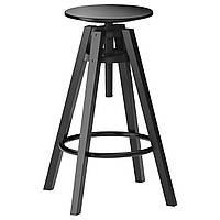 Табурет барный IKEA DALFRED Черный (601.556.02)