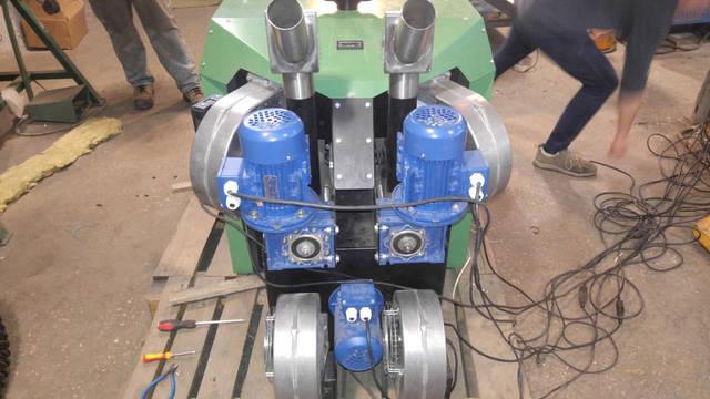 Объект с применением горелки 750 кВт