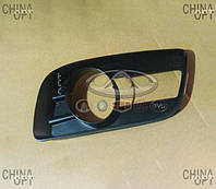 Решетка противотуманки левая, Great Wall Haval [H5], 2803303-K80, Aftermarket