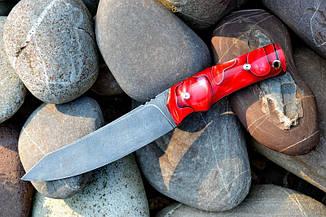 """Охотничий нож ручной работы """"Странник"""", дамасск, фото 3"""