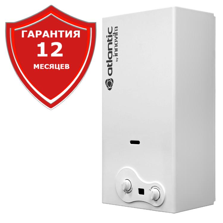Водонагреватель проточный газовый  Atlantic by innovita Trento lono Select 11 iD
