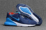 Мужские кроссовки Nike Air Max Flair 270 Blue/White, фото 2