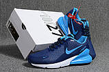 Мужские кроссовки Nike Air Max Flair 270 Blue/White, фото 3