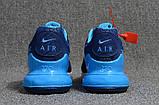 Мужские кроссовки Nike Air Max Flair 270 Blue/White, фото 4