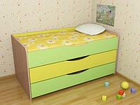 Кровать детская 3-ярусная без матрацов