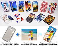 Печать на чехле для Alcatel6034ROneTouch Idol S (Cиликон/TPU)